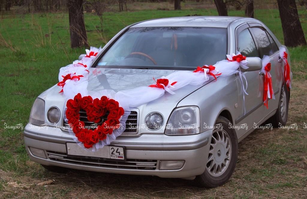 Украшение на свадебную машину на радиатор своими руками